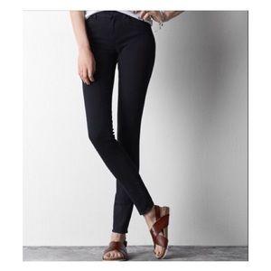 American eagle super stretch black jeggins-jeans 8